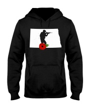 NorthDakota Veteran Day  Hooded Sweatshirt thumbnail