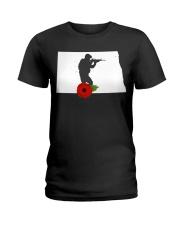 NorthDakota Veteran Day  Ladies T-Shirt thumbnail