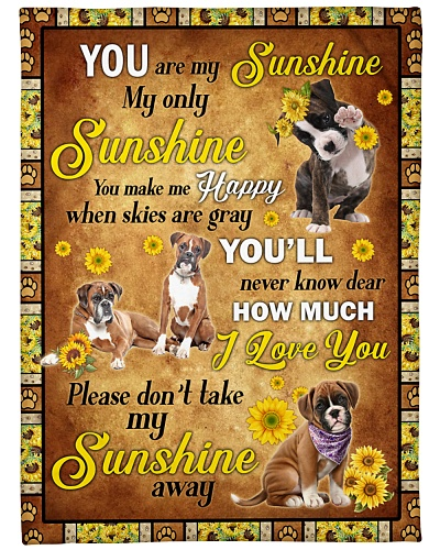 Boxer Sunshine