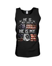 Army - he is not just a soldier - he is my son Unisex Tank thumbnail