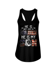 Army - he is not just a soldier - he is my son Ladies Flowy Tank thumbnail