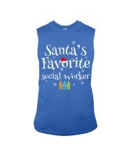 Santa's favorite Social worker  Sleeveless Tee front