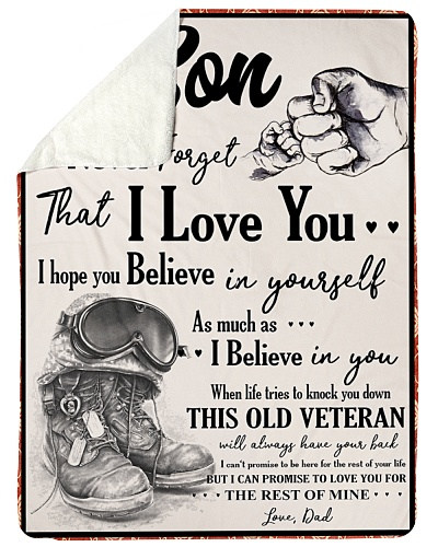 Veteran To my Son