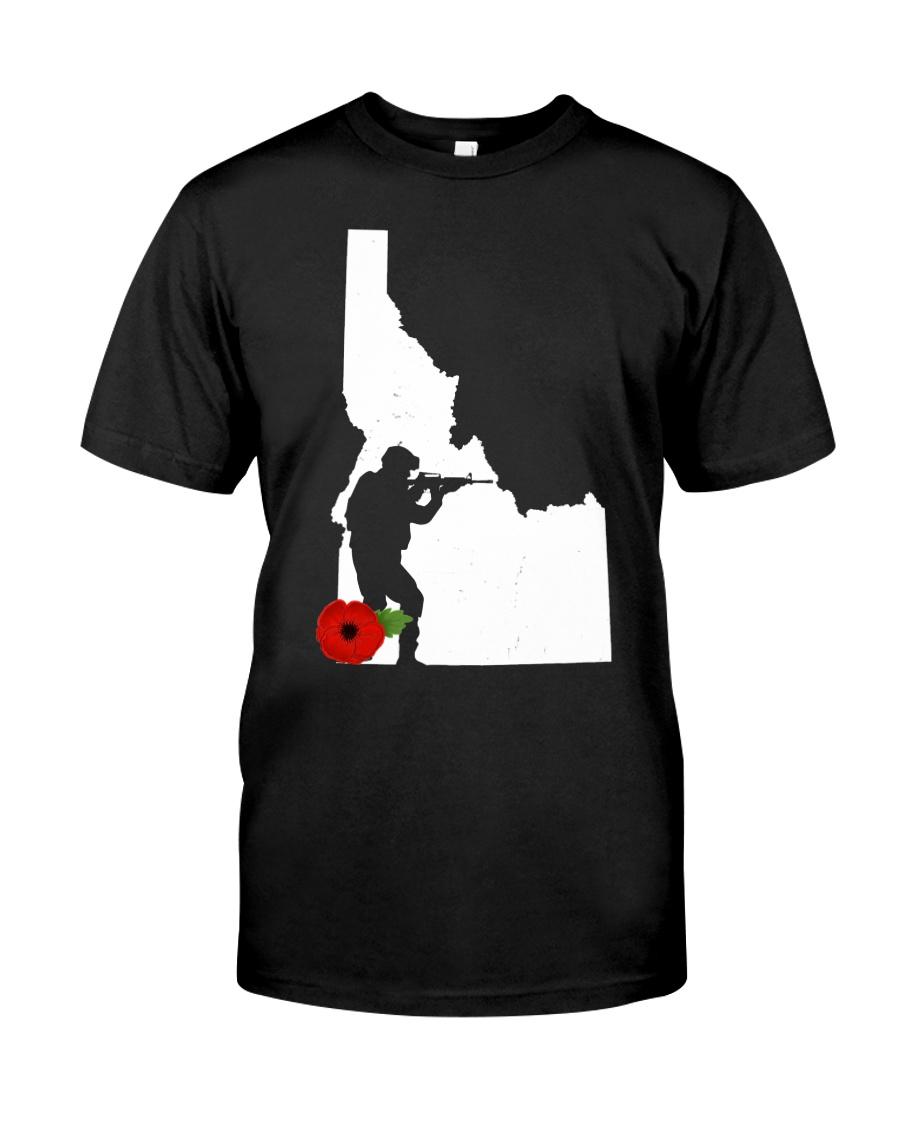 Idaho  Veteran Day  Classic T-Shirt