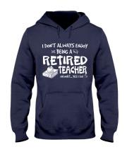 TEACHER RETIRED Hooded Sweatshirt thumbnail