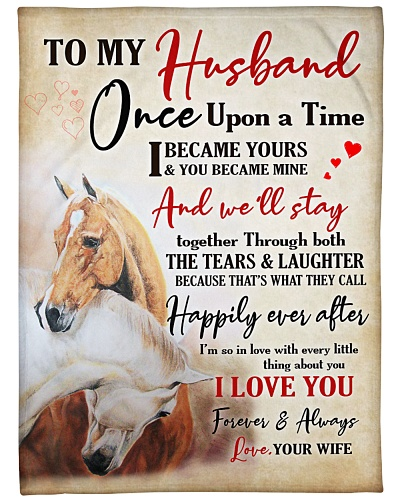 Horse To my Husband