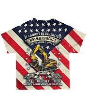 Heavy Equipment Operator  All-over T-Shirt back