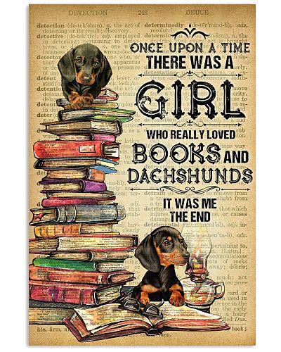 Dachshund And Book