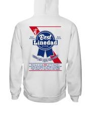 Lineman Dad Hooded Sweatshirt back