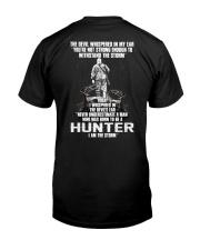 hunter storm Classic T-Shirt back