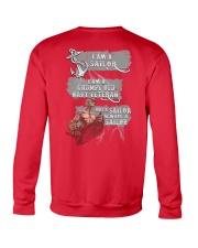 Sailor veteran Crewneck Sweatshirt back