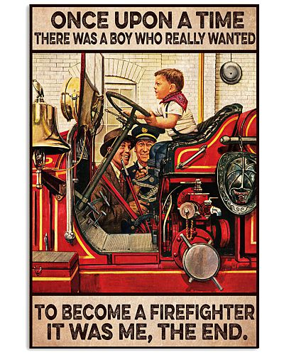 Firefighter Once upon a time