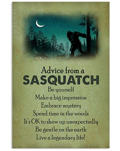 Advice From A Sasquatch