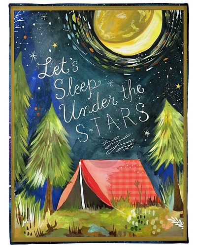 Camping Let's sleep under the star