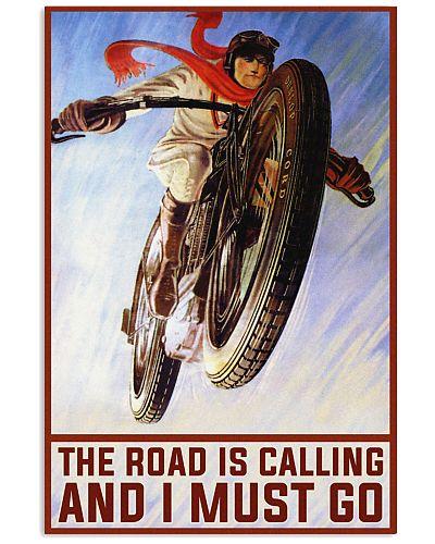 Biker The road is calling
