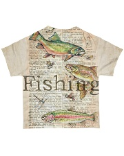 Fishing Vintage All-over T-Shirt back