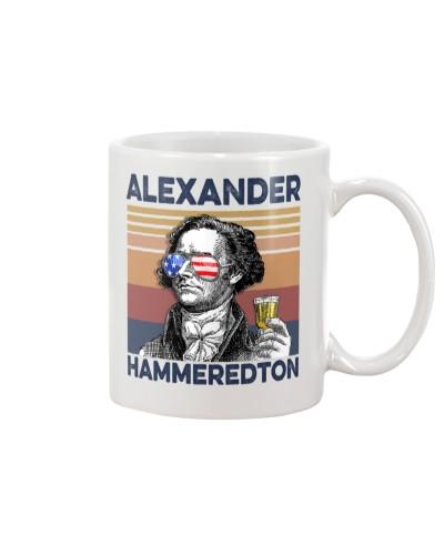 DrinkMugWhite Alexander Hammeredton