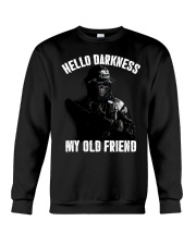 Hello darkness my old veteran friends Crewneck Sweatshirt thumbnail