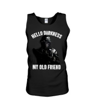 Hello darkness my old veteran friends Unisex Tank thumbnail
