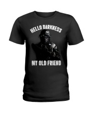 Hello darkness my old veteran friends Ladies T-Shirt thumbnail