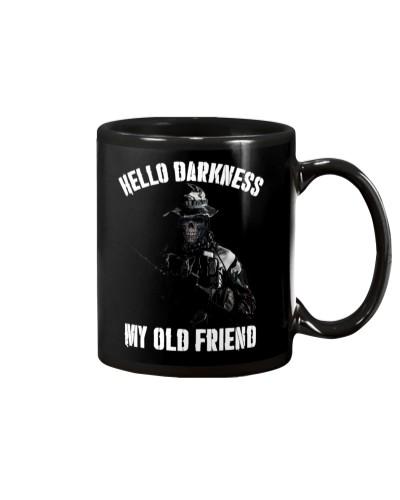Hello darkness my old veteran friends