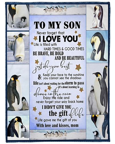 Penguin To my Son