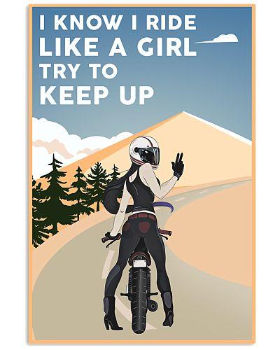 Biker Ride Like A Girl