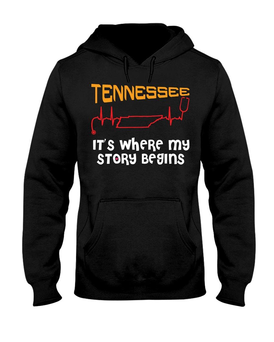 Tennessee Nurse Hooded Sweatshirt