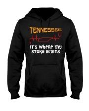 Tennessee Nurse Hooded Sweatshirt front