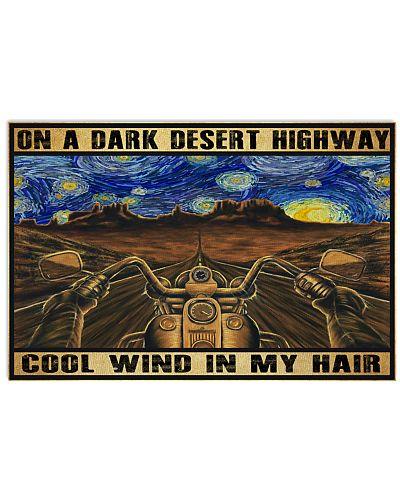 Biker Cool Wind In My Hair