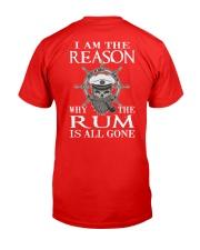 sailor rum Classic T-Shirt back