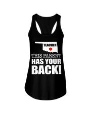 SUPPORT OKLAHOMA TEACHERS Ladies Flowy Tank thumbnail