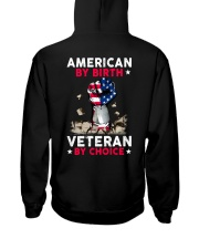 Veteran  Hooded Sweatshirt back