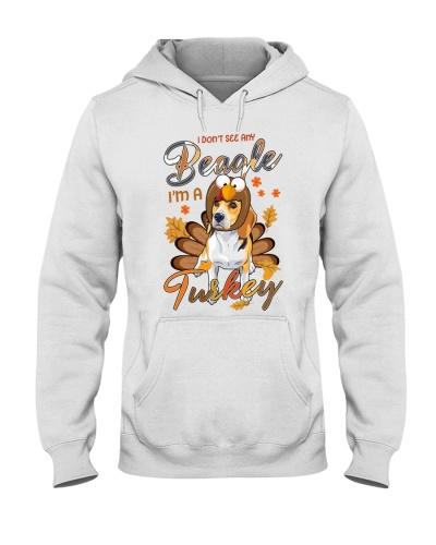 Beagle I'm a turkey