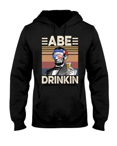 US Drink Abe drinkin