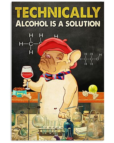 Dog Technically alcohol is a solution