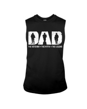 Dad - The Veteran The Myth The Legend  Sleeveless Tee thumbnail