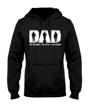 Dad - The Veteran The Myth The Legend  Hooded Sweatshirt thumbnail