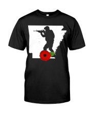 Arkansas Veteran Day  Classic T-Shirt front