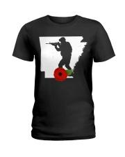 Arkansas Veteran Day  Ladies T-Shirt thumbnail