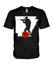 Arkansas Veteran Day  V-Neck T-Shirt thumbnail