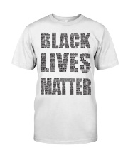 BLACK LIVES MATTER Classic T-Shirt tile