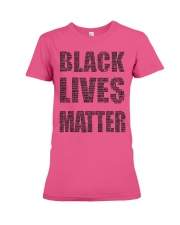 BLACK LIVES MATTER Premium Fit Ladies Tee thumbnail