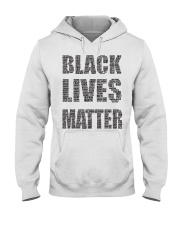 BLACK LIVES MATTER Hooded Sweatshirt thumbnail