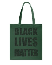 BLACK LIVES MATTER Tote Bag thumbnail