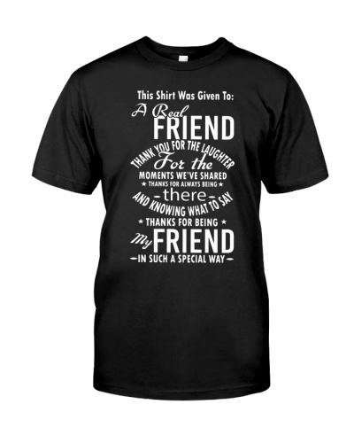A REAL FRIEND IN SPECIAL WAY