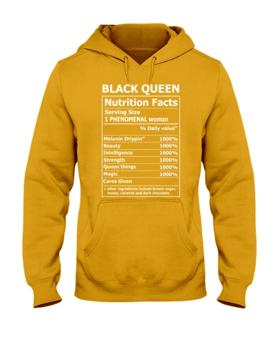 BLACK QUEEN NUTRITIONAL FACTS