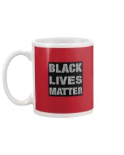 BLACK LIVE MATTER TO ALL Mug back