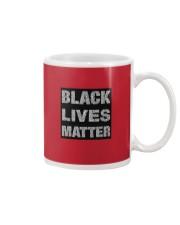 BLACK LIVE MATTER TO ALL Mug front