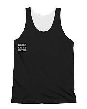 BLACK LIVE MATTER TO ALL All-over Unisex Tank thumbnail
